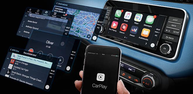<p>Apple Carplay Technology</p>