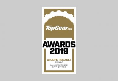 Groupe Renault named 'Manufacturer Of The Year' By Topgear.com