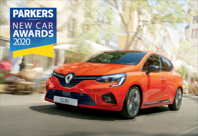 Groupe Renault scores a hat trick at the Parkers New Car Awards 2020