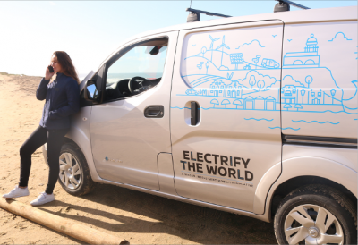 Electrifying A New Wave of Entrepreneurs With The 100% Electric E-NV200