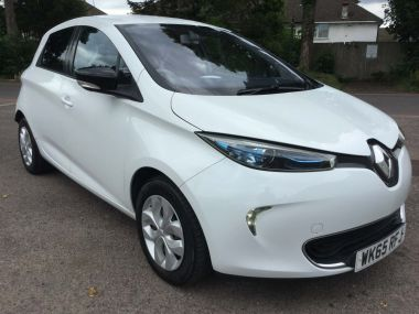 Renault Zoe 22kwh Expression Auto 5dr (battery Lease)