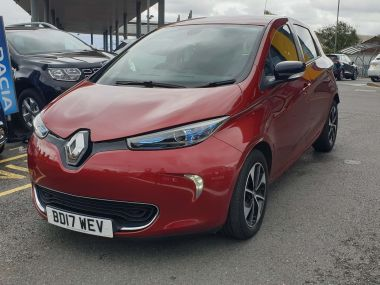 Renault Zoe R90 41kwh Dynamique Nav Hatchback 5dr Electric Auto (battery Lease) (92 Bhp)