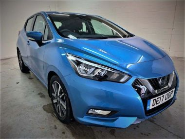 Nissan Micra Hatchback 0.9 Ig-t Acenta Hatchback 5dr Petrol Manual (s/s) (90 Ps)