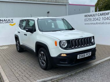 Jeep Renegade Diesel Hatchback Renegade My17 Sport 1.6 Multijet Ii 120hp