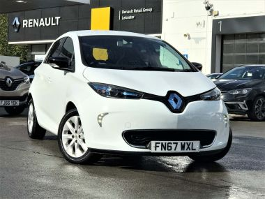 Renault Zoe 22kwh Dynamique Nav Hatchback 5dr Electric Auto (battery Lease) (88 Bhp)
