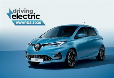New Renault Zoe picks up a double win at Driving Electric Awards